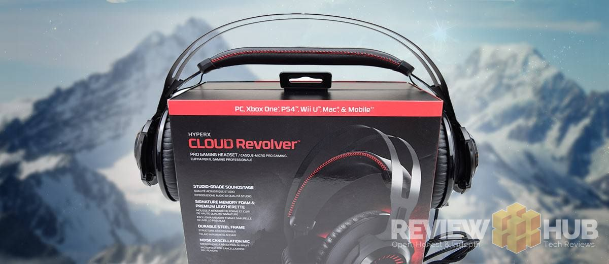 HyperX Cloud Revolver Headset being stretched