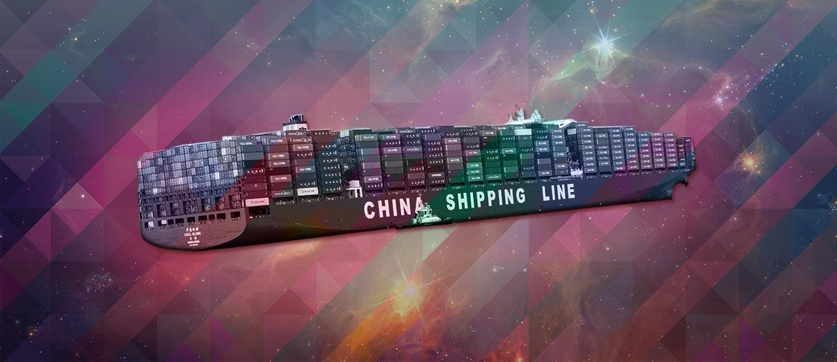 Chinese Shipping container