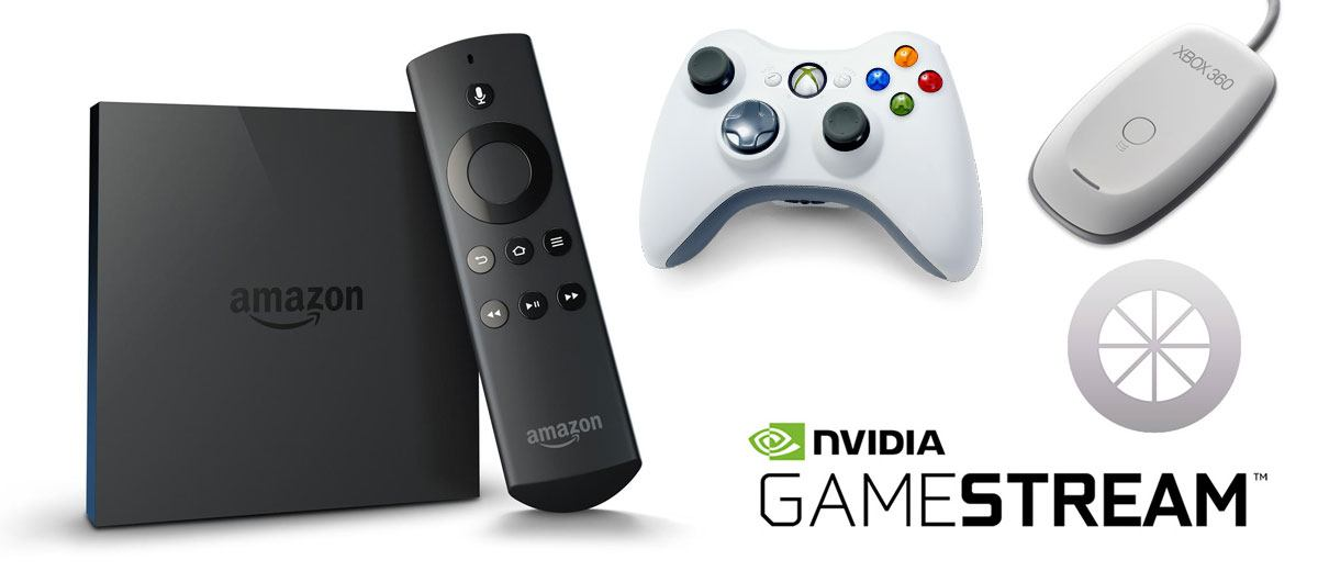 Fire TV, Xbox Pad, Moonlight app logo