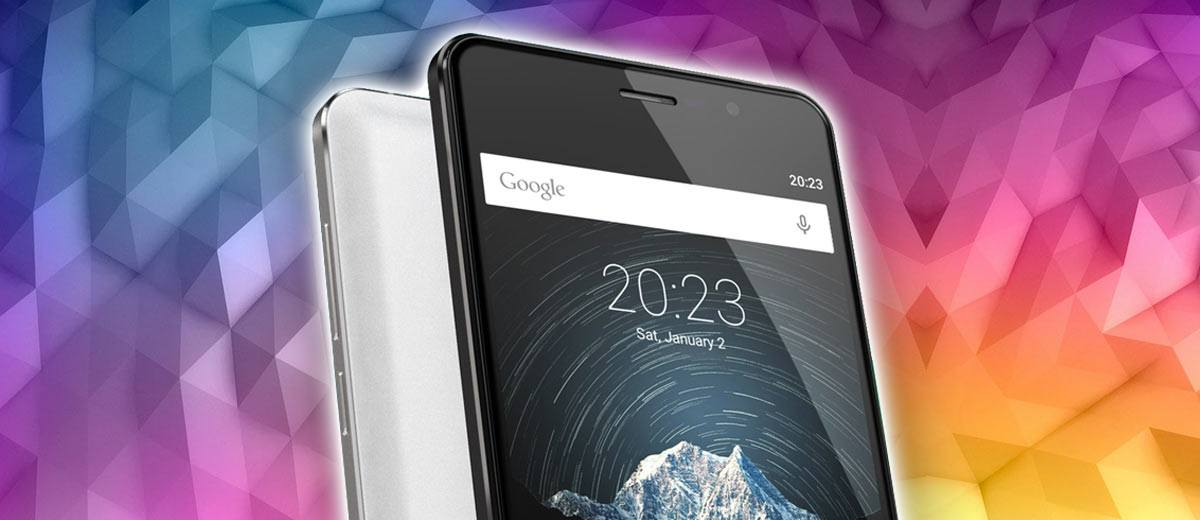 Cubot Smartphone front and back