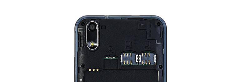 Ulefone Paris SIM tray