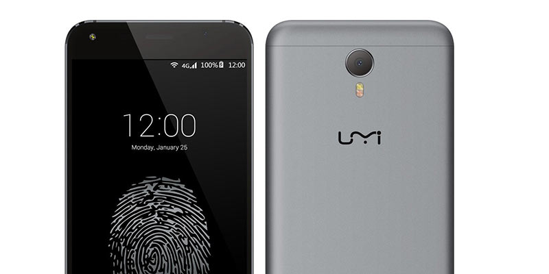 UMi Touch phone Black