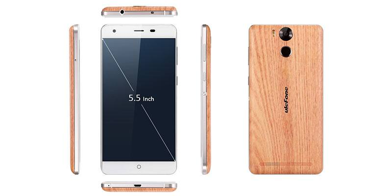 Ulefone Power Wooden Dimensions