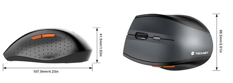 Tecknet M002 Nano Dimensions