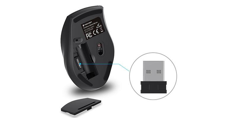 Tecknet USB Nano Receiver