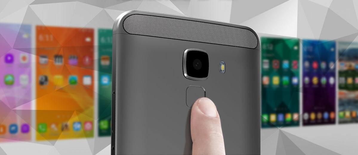 BluBoo Xfire 2 finger print reader