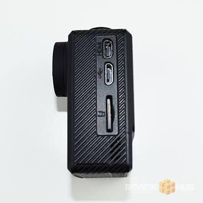SJCAM M20 Memory card slot