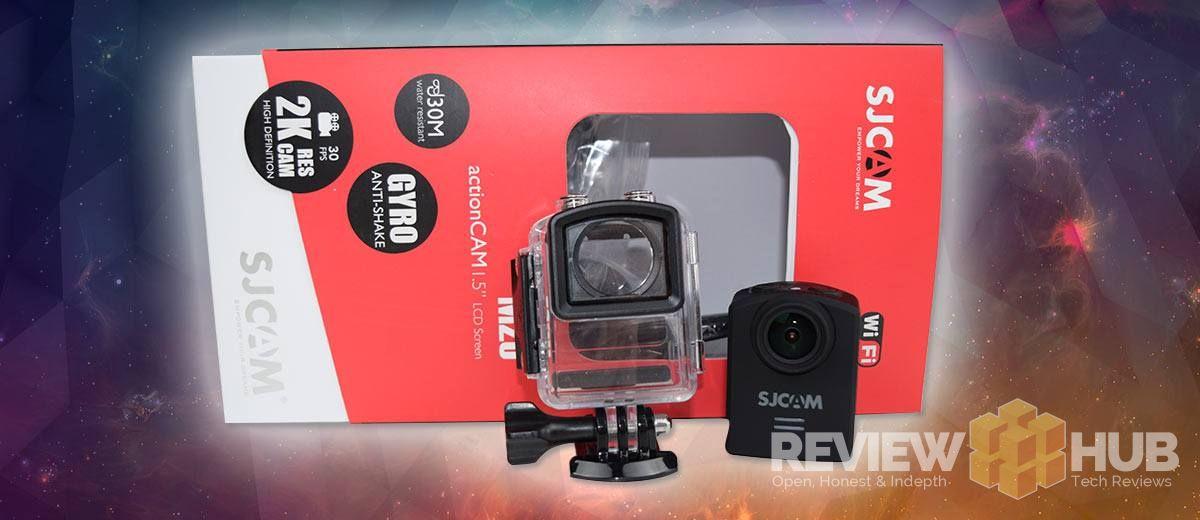 SJCAM M20 with waterproof case