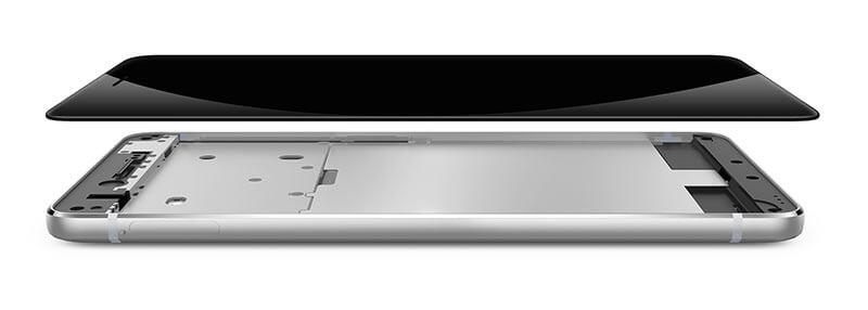 Mobile Bezel-less screen technology