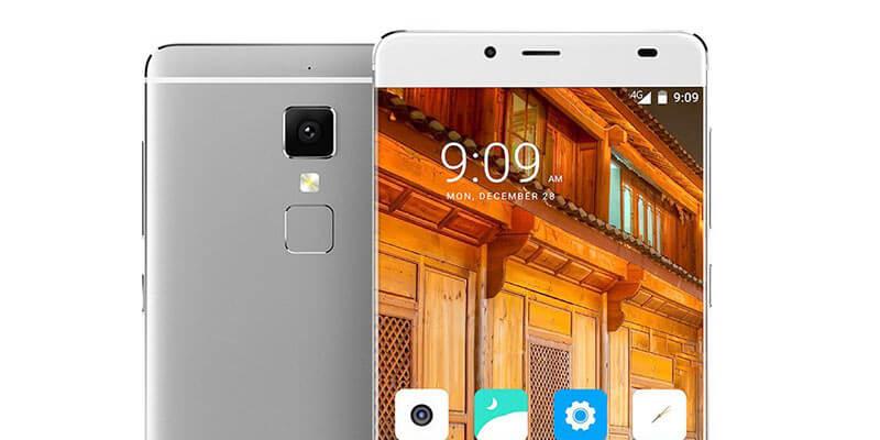 Elephone S3 bezel-free smartphone white