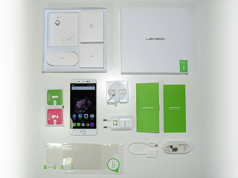 Leagoo-Elite-1-Box-contents
