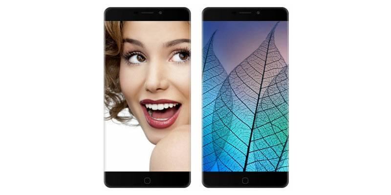 P9000 Edge Bezel-less phone