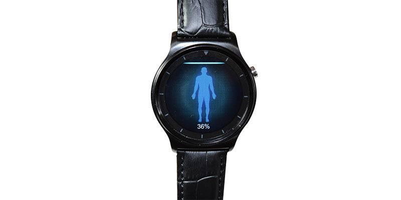 Ulefone-Gw01-smartwatch-fitness-test