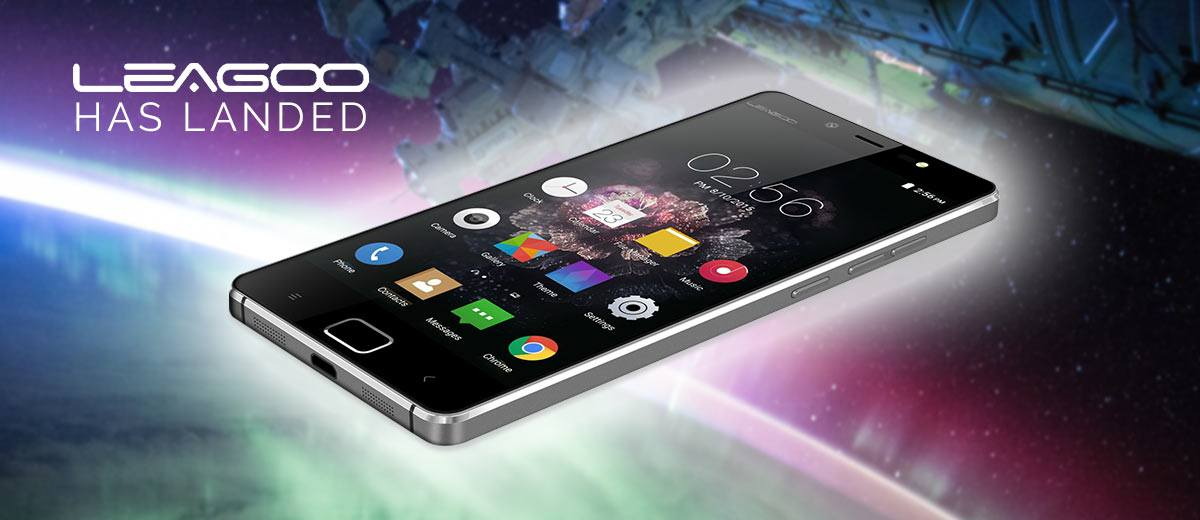 Leagoo Elite 1 smartphone in space