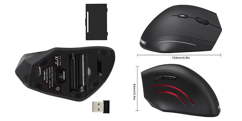 tecknet-ergonomic-mouse-dimensions