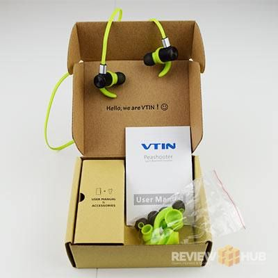 VTIN Peashooter Wireless Earbuds with box