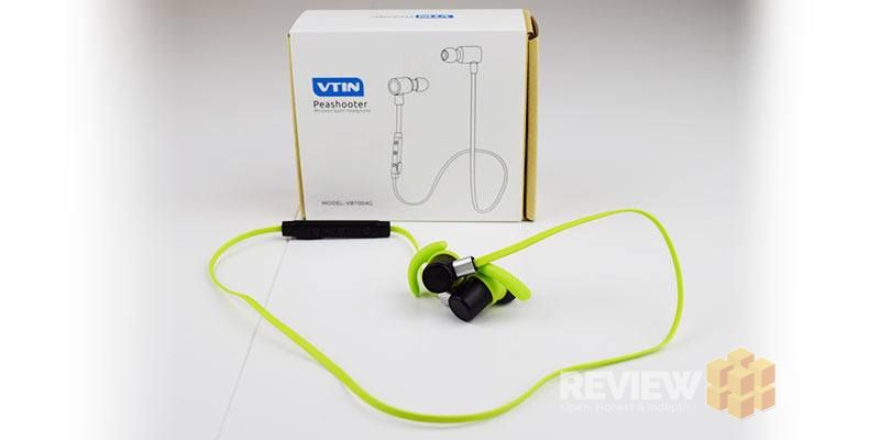 VTIN Peashooter Wireless Earbud green