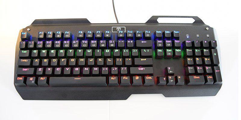 VicTsing Mechanical Gaming keyboard Review (I-900) | Review Hub