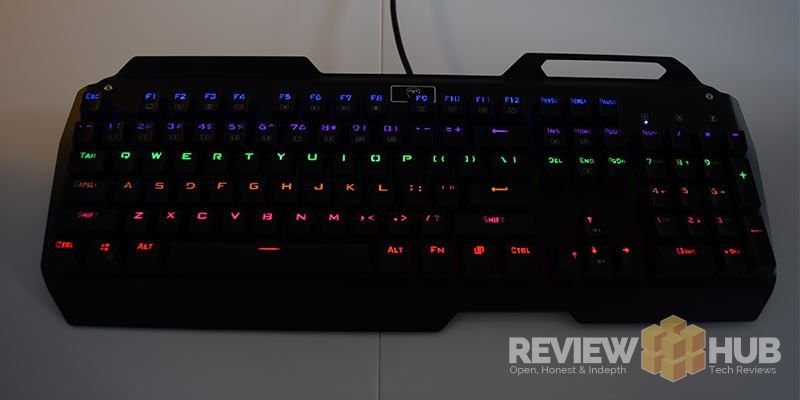 VicTsing Mechanical Gaming keyboard Review (I-900) | Review Hub