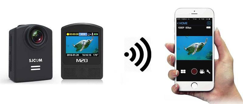 SJCAM M20 Wifi App