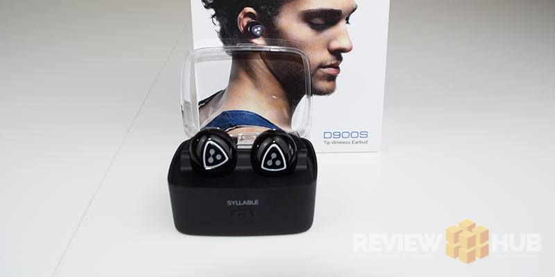 Syllable D900S Earphones with charging box