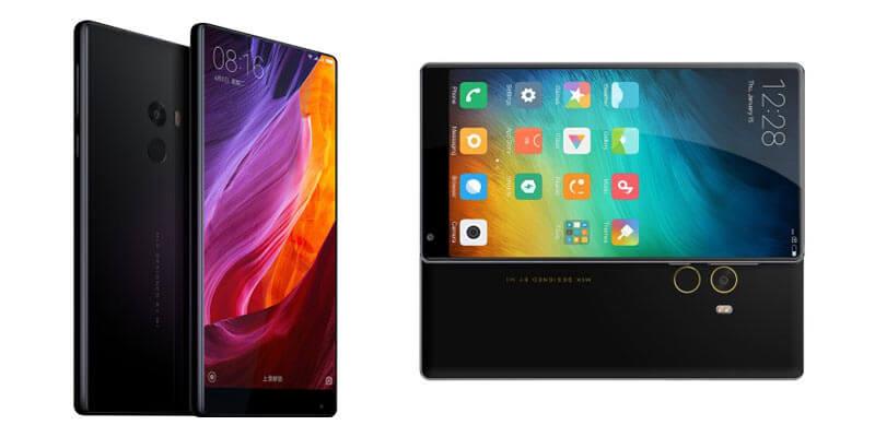 Xiaomi Mi Mix bezel-less smartphone