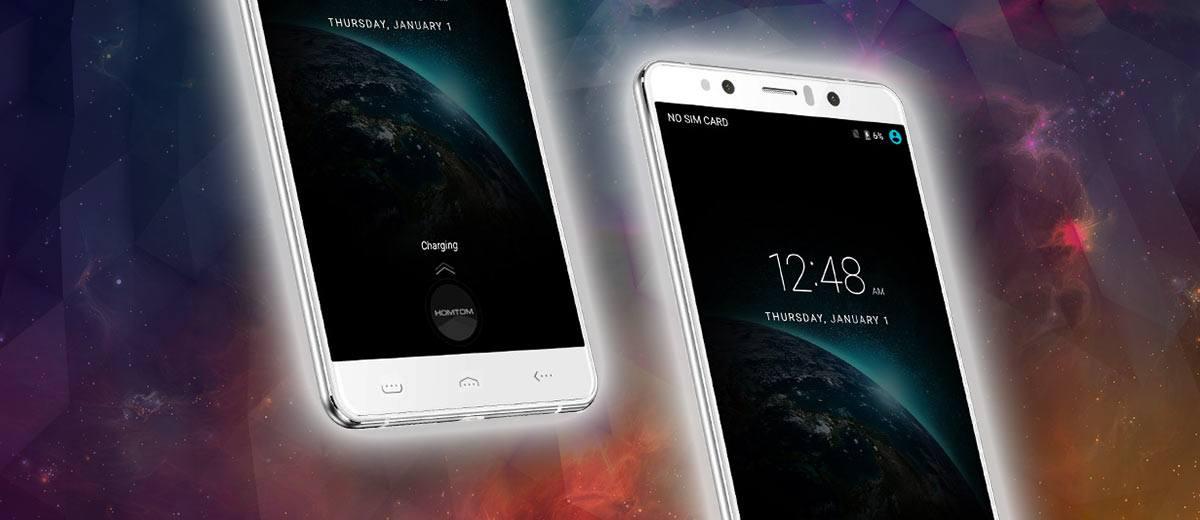 HomTom HT10 Smartphone White