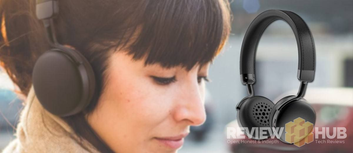 AudioMX MX10 Headphones in Black