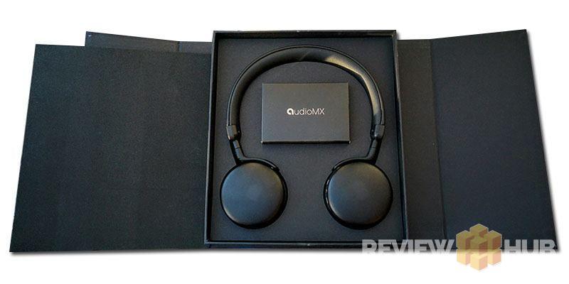 AudioMX MX10 Magnetic Box with headphones