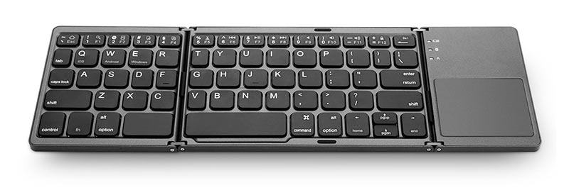 Jelly Comb Tri-Fold Portable Bluetooth Keyboard
