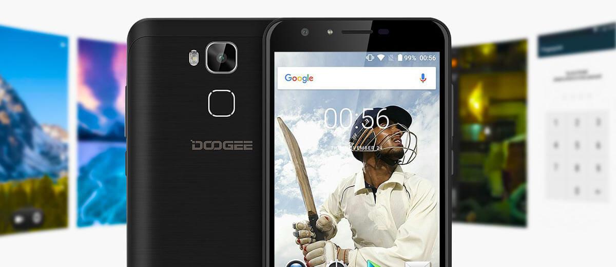 Doogee Y6 Smartphone