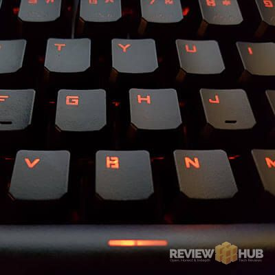 Reidea RGB Gaming Keyboard Red lights
