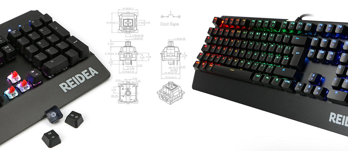 Reidea RGB Gaming Keyboard