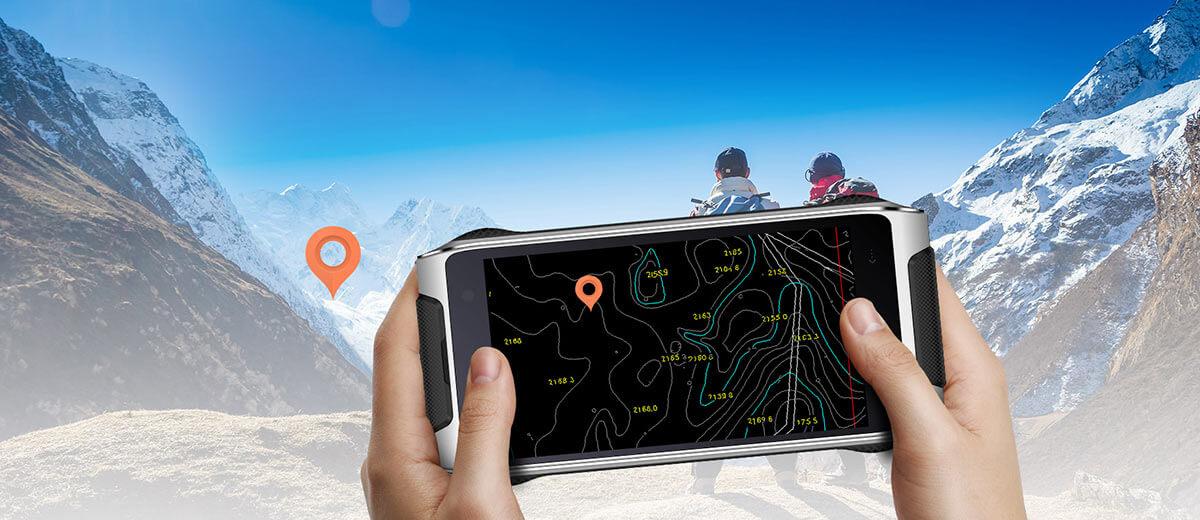 HomTom HT20 adventure smartphone