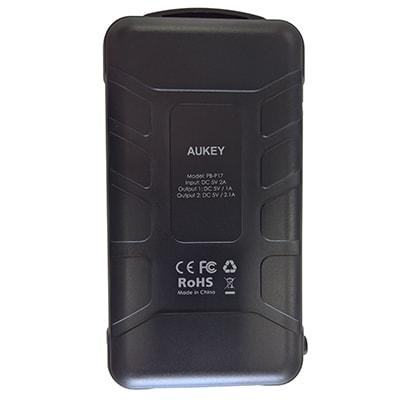 Aukey PB-17 Power Bank Back