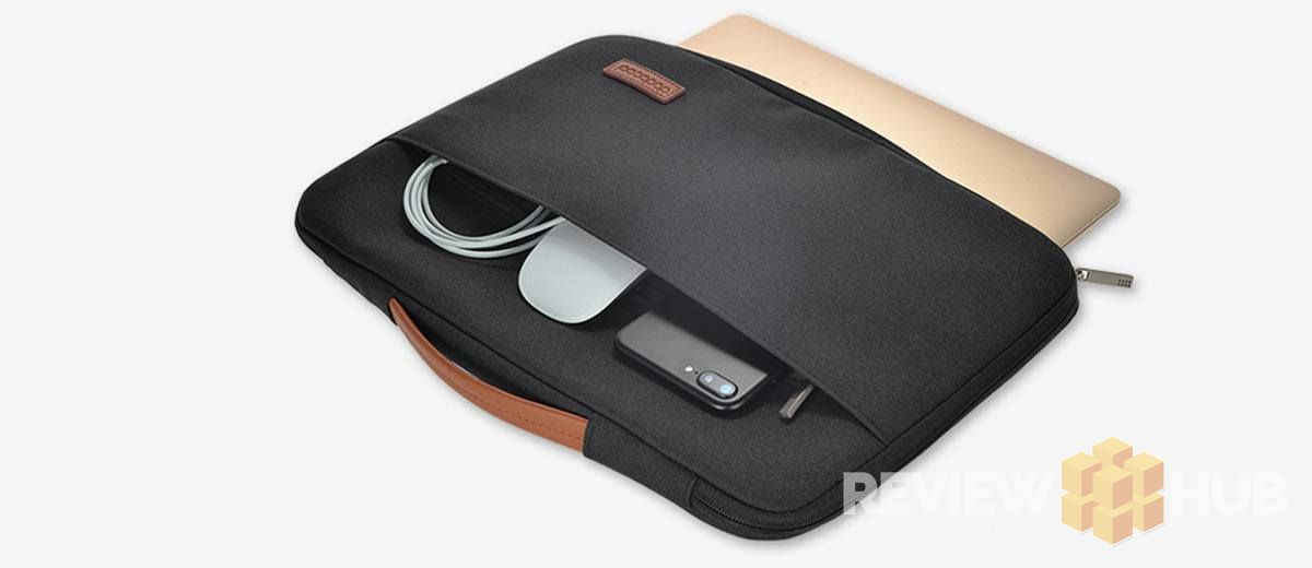 dodocool Laptop Sleeve with gadget pocket