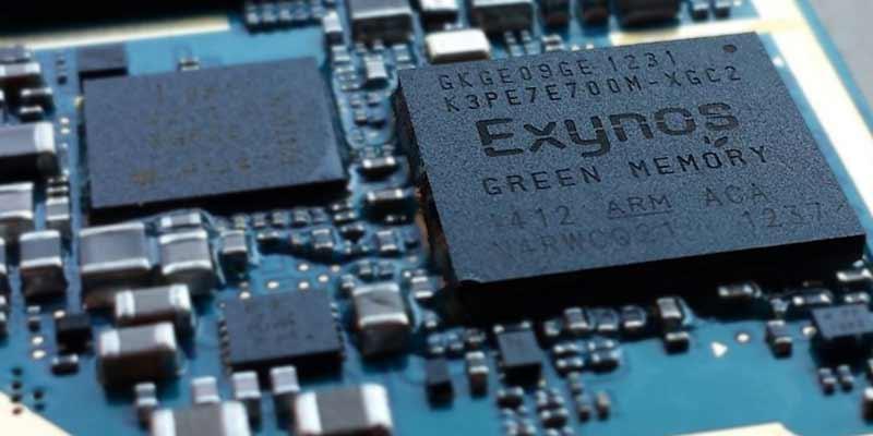 Smartphone RAM chip