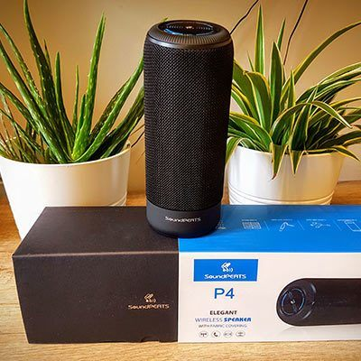 SoundPEATS P4 Speaker with Box
