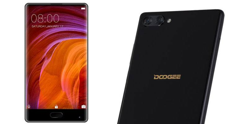 Doogee Mix borderless phone