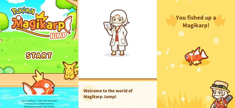 Pokemon Magikarp Jump Game Mayor karp