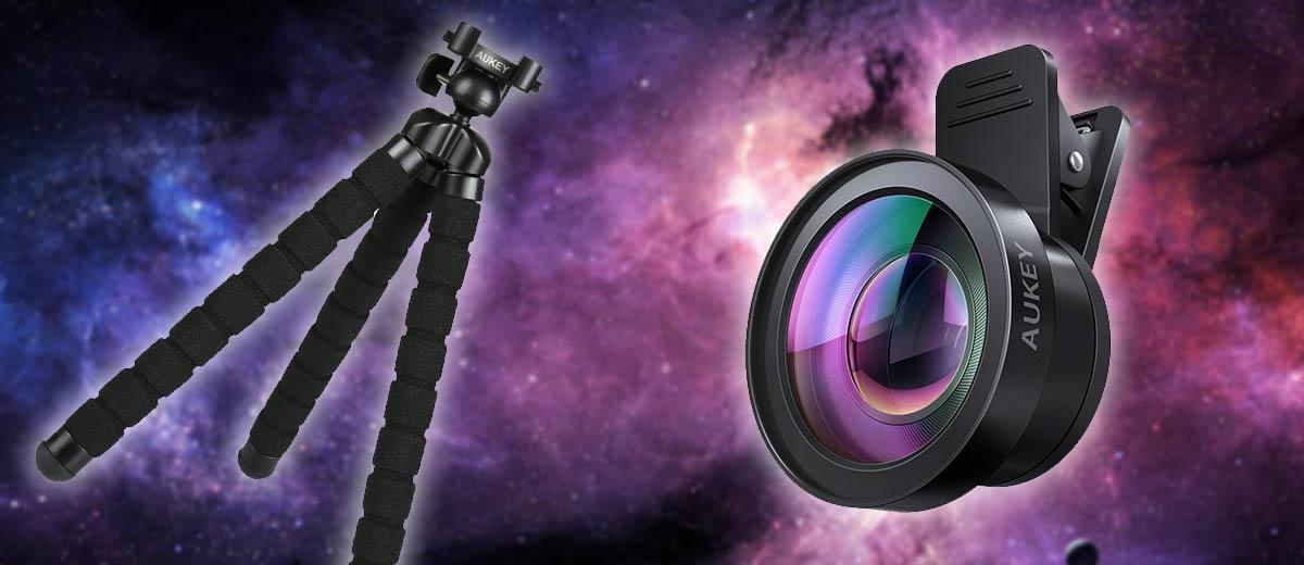 Aukey Lens Kit and mini tripod