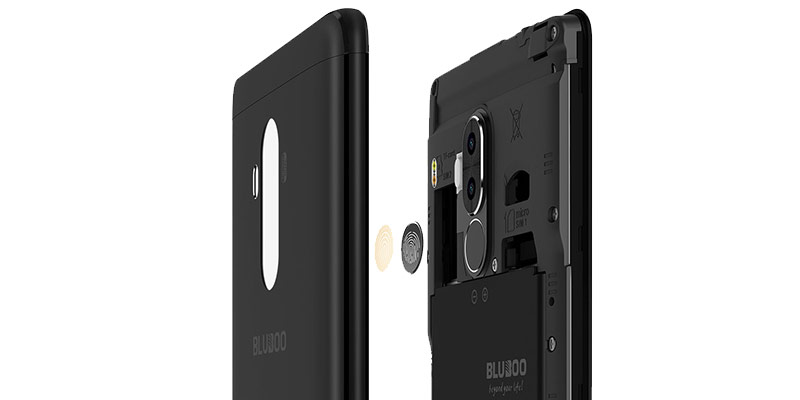 Bluboo D1 Cameras fingerprint reader