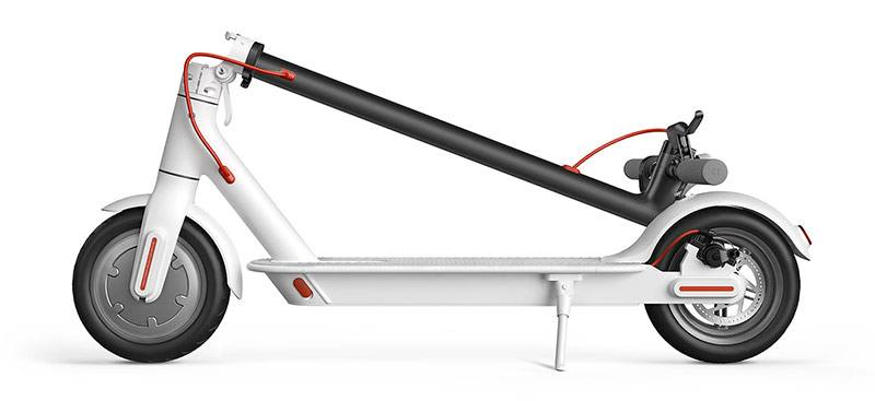 Xiaomi Electric Scooter folded