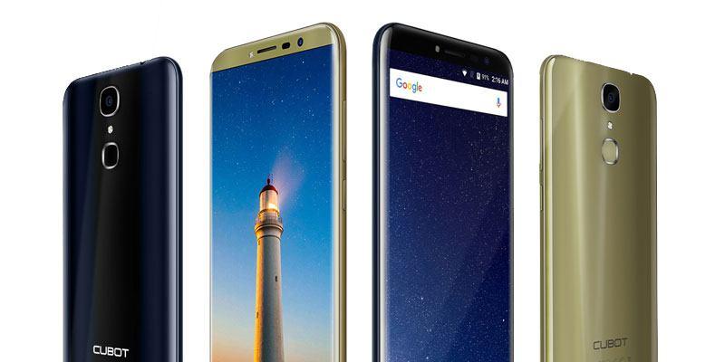 Cubot X18 Smartphone Gold