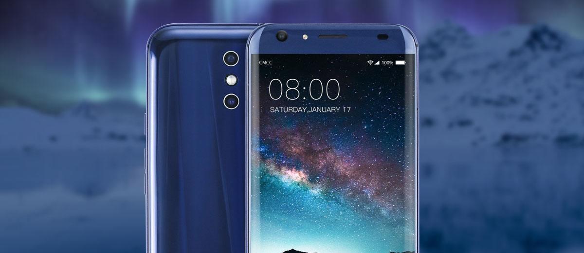 Doogee BL5000 Smartphone Blue