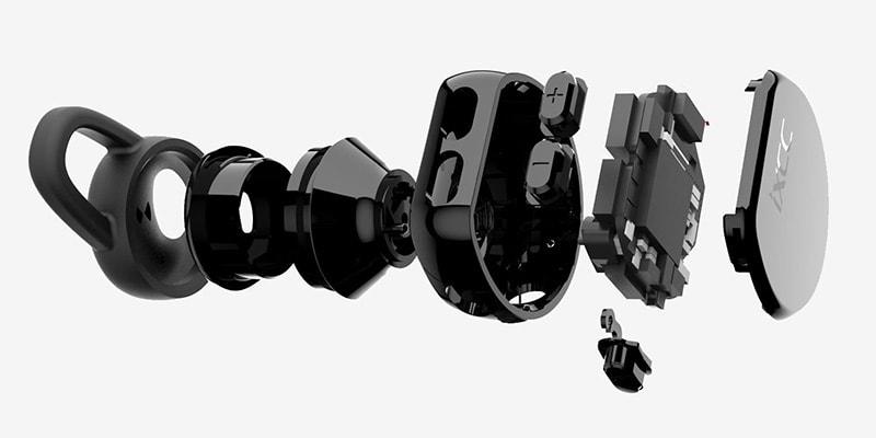 IXCC iX-BT1 Earphones Inside