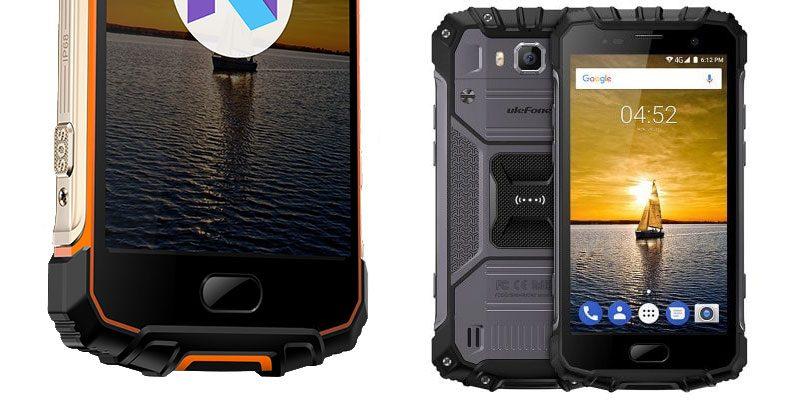 Ulefone Armour 2 waterproof smartphone