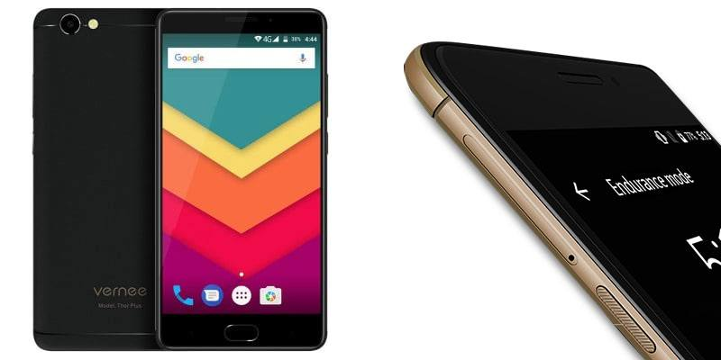 Vernee Thor Plus Smartphone