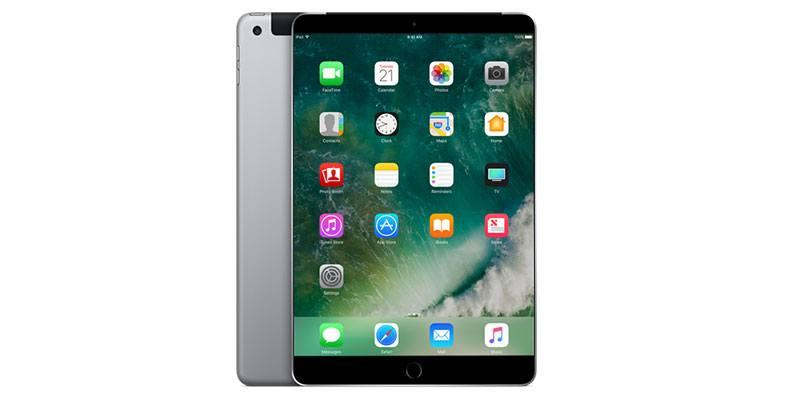 bezel-less ipad tablet