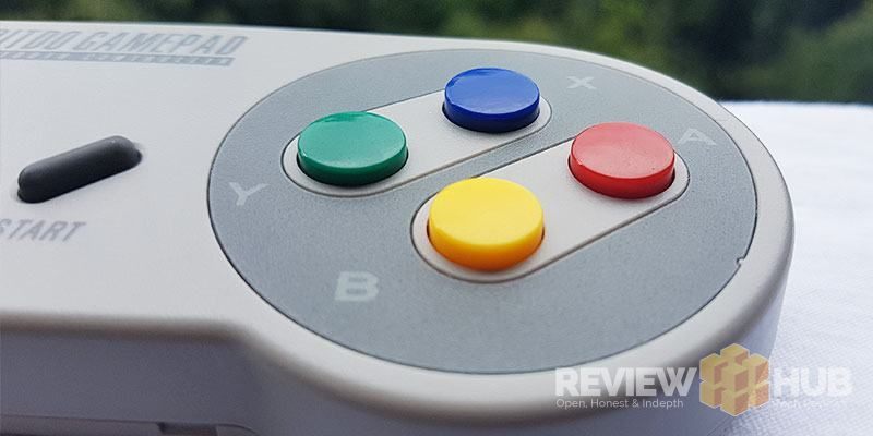 8Bitdo SNES Controller Buttons